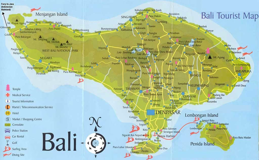 Bali Tourist Tips