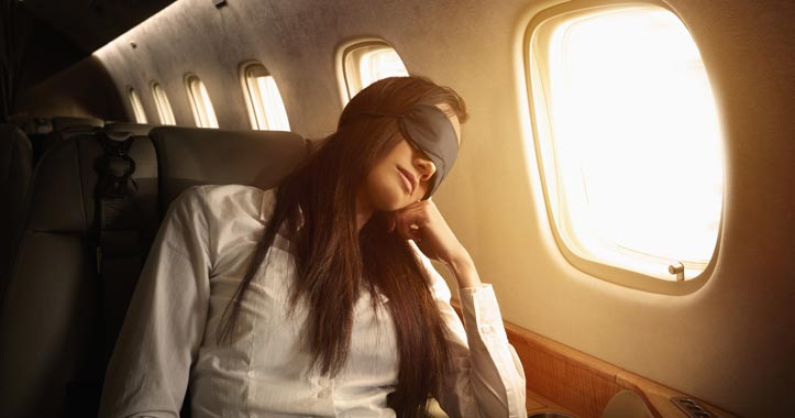 Shut-Eye on a Plane